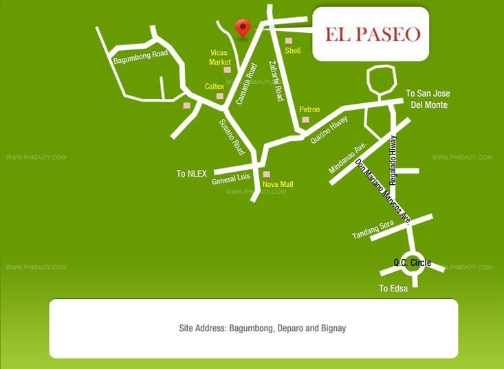 El Paseo Location