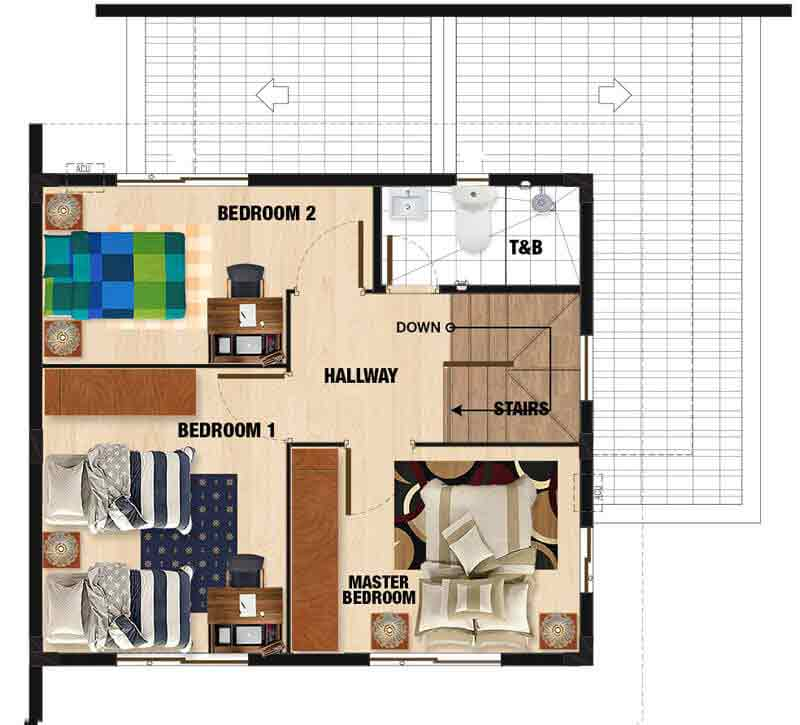 Elaisa Model Floor Plan