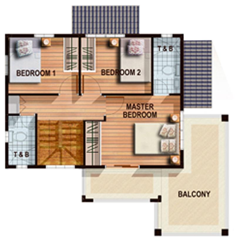 Emerald- Second Floor Plan
