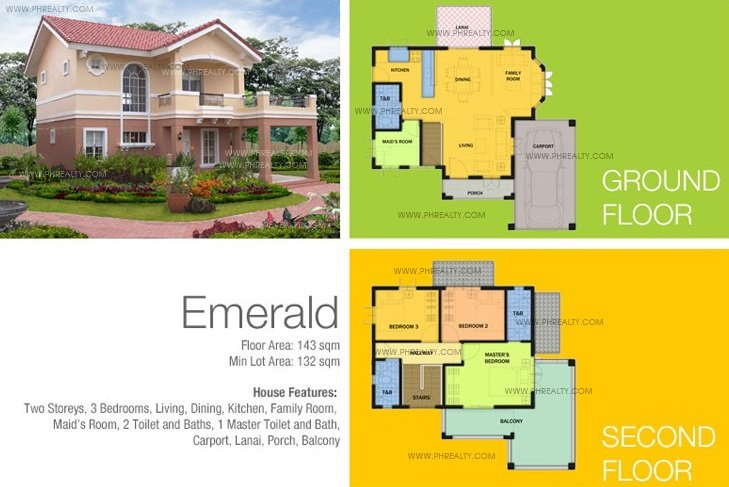 Emerald House Features & Specifications