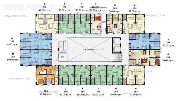 Floor Plan Cluster28 Ground Floor Plan