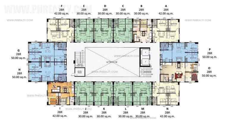 Floor Plan Cluster28 Typical Floor Plan