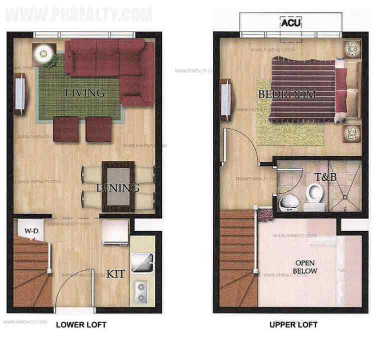 Unit Plan 1Bedroom