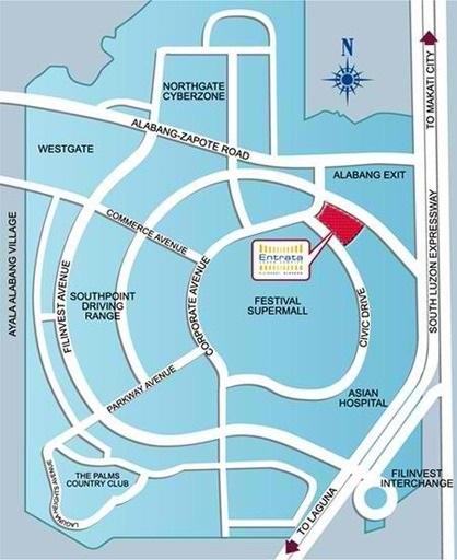 Entrata Urban Complex Location