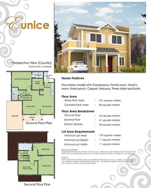 Eunice Floor Plan