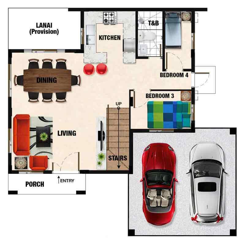 Gavina Floor Plan