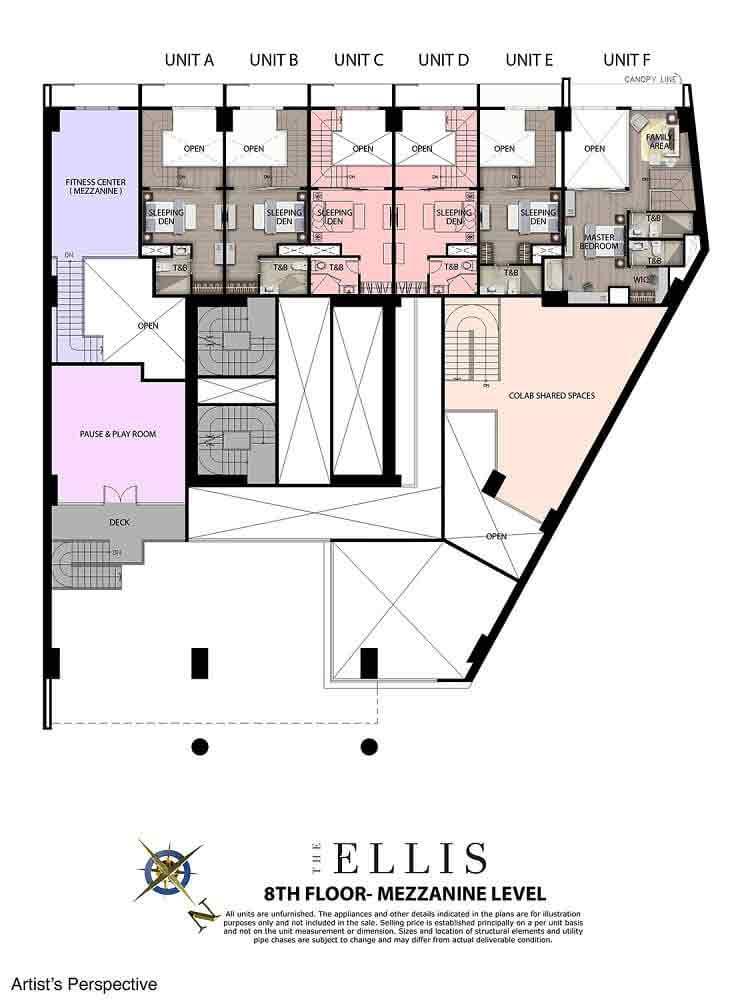 8th floor - Mezzanine Level