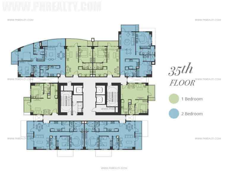 Floor Plan - 35th Floor
