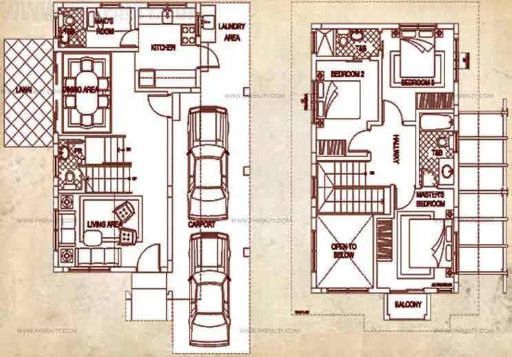 Sevilla Floor Plan