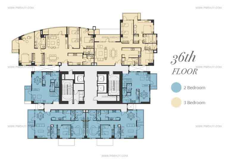 Floor Plan - 36th Floor