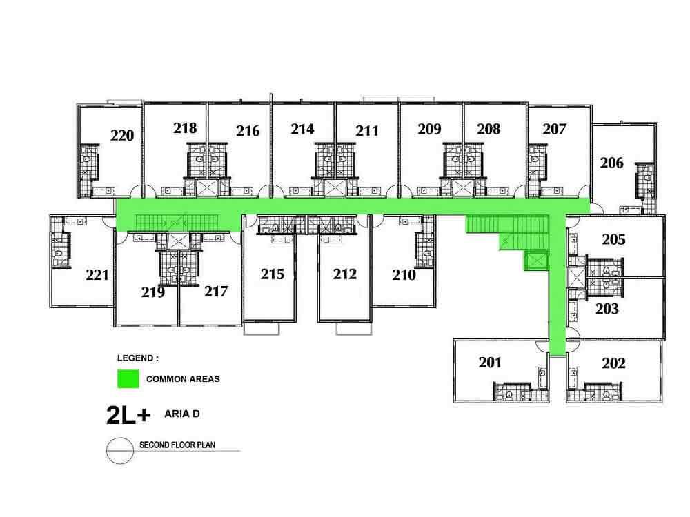 Aria D- Second Floor Plan