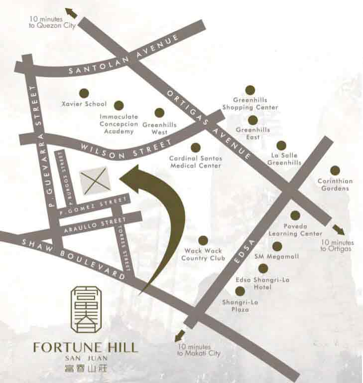 Fortune Hill Location