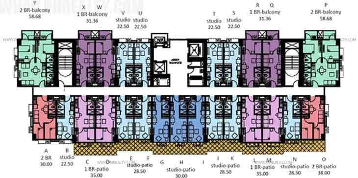 Garden Deck Floor Plan
