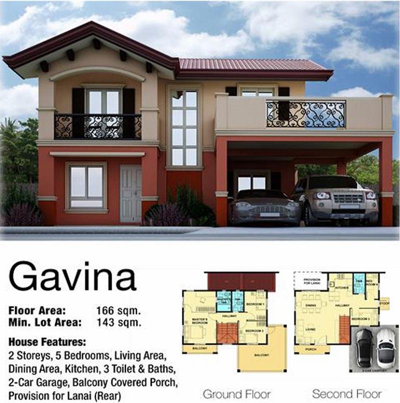 Gavina House floor plan