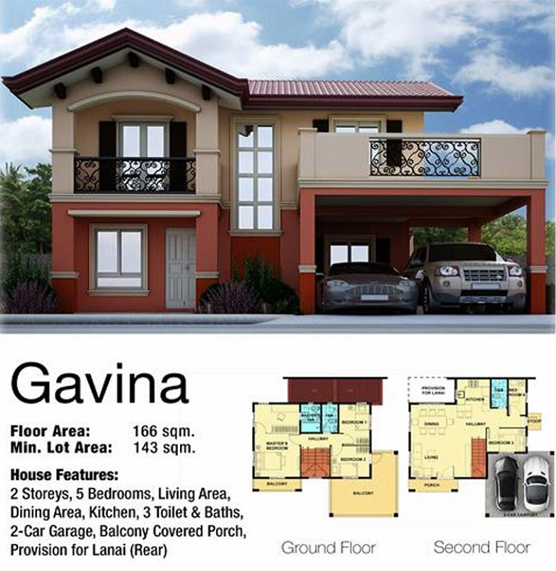 Gavina House Floor Plan