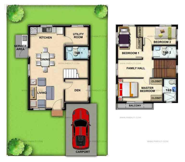 Haliya Floor Plan