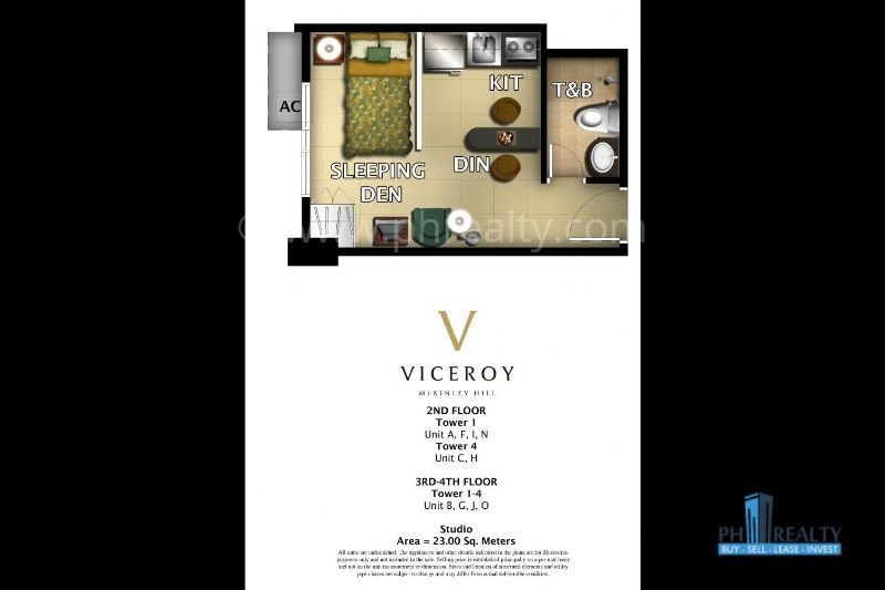 The Viceroy For Rent or Resale.
