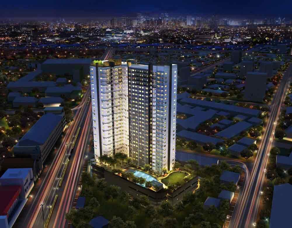 Avida Towers Intima - Night View