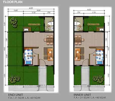Jasmine Floor Plan
