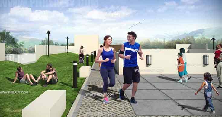 Jogging Area