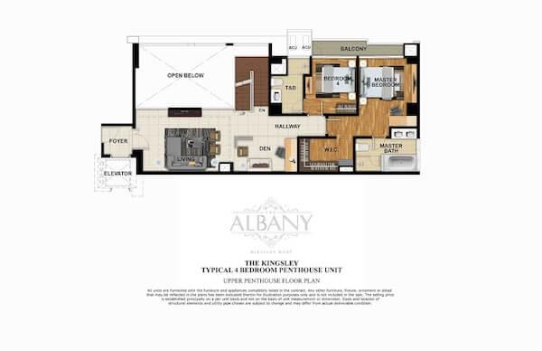 4 BR Penthouse Unit