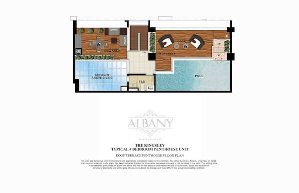 Roof Terrace Penthouse Floor Plan