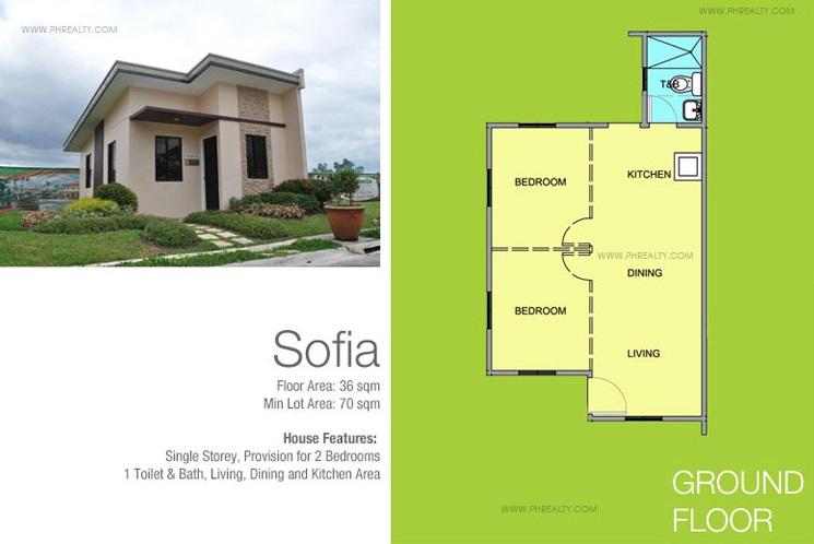 Sofia House Floor Plan