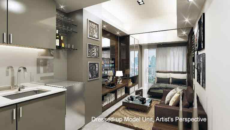 Jazz residences smdc condo for sale in nicanor garcia for Jazz living room ideas