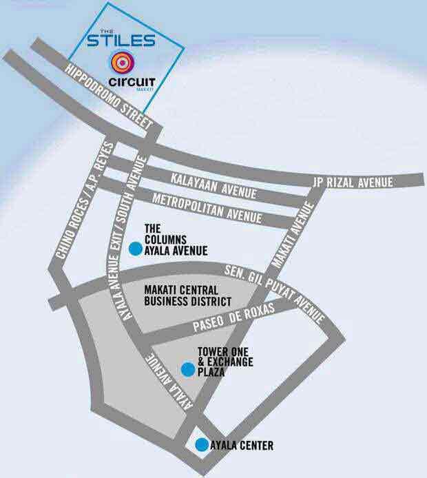 The Stiles Enterprise Plaza Location