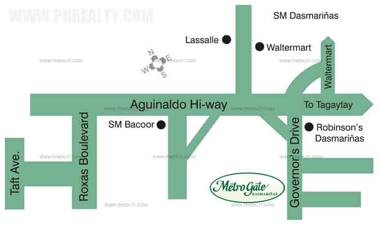 Metrogate Dasmarinas Location