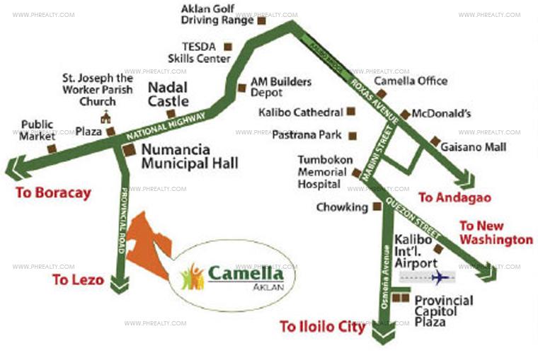 Camella Aklan Location
