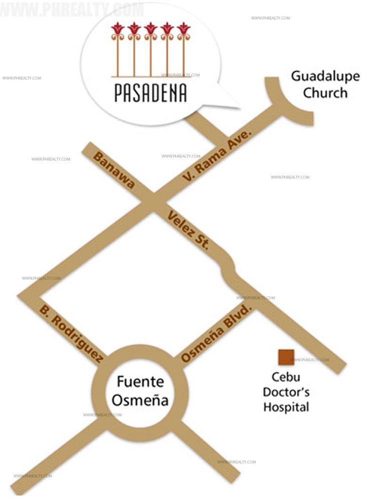 Camella Pasadena Location