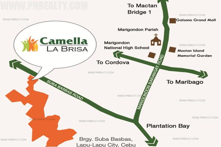 Camella La Brisa Location