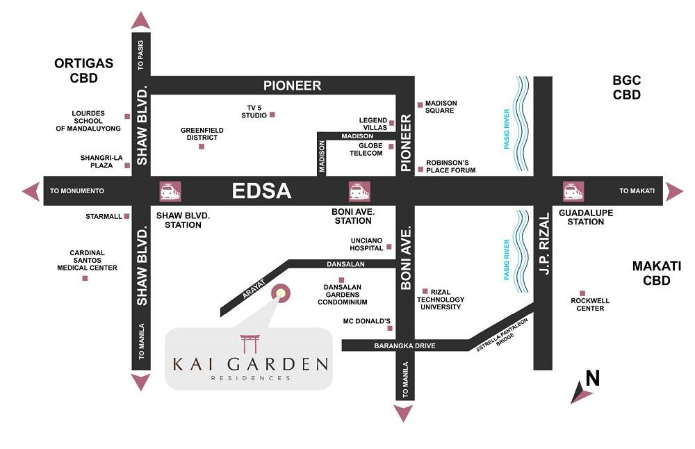 Kai Garden Residences Location