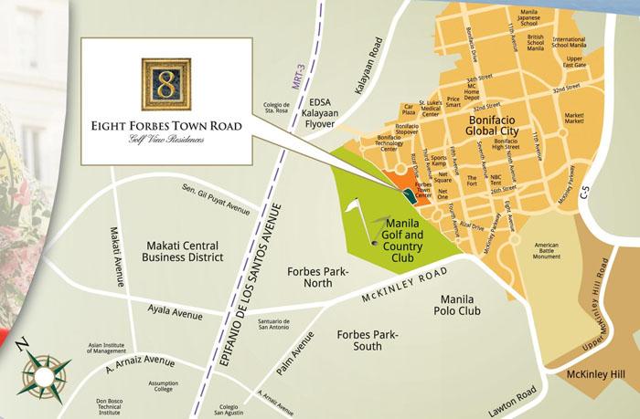 8 Forbestown Road Location