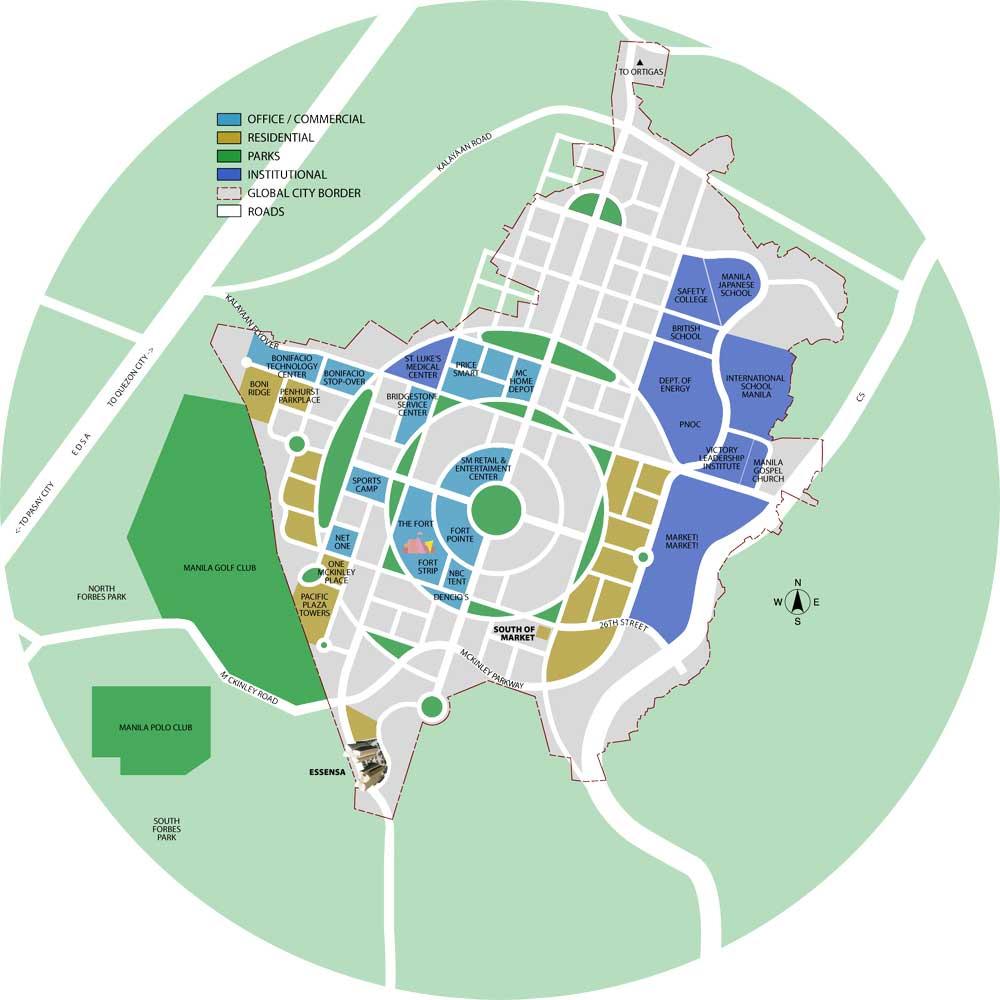 Essensa East Forbes Location
