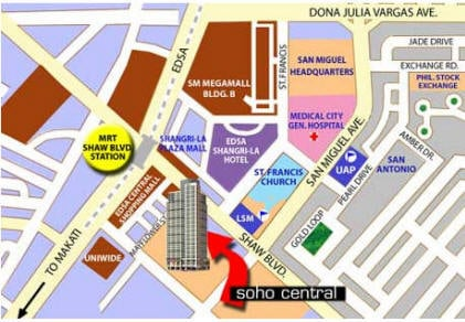 Soho Central Location