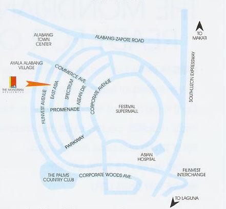 The Mondrian Residences Location