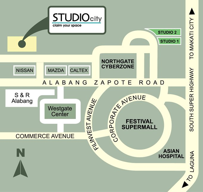 Studio One Alabang Location