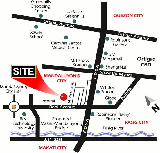 Dansalan Gardens Location