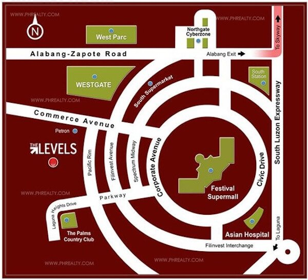 The Levels Location