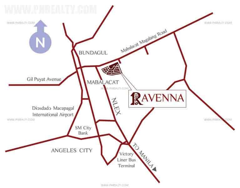 Ravenna Location