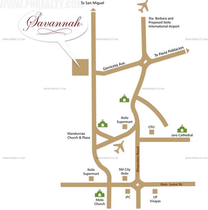 Savannah Glades Location