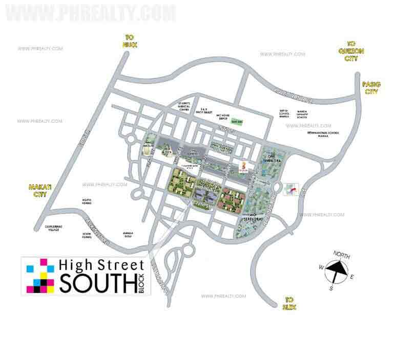 High Street South Location