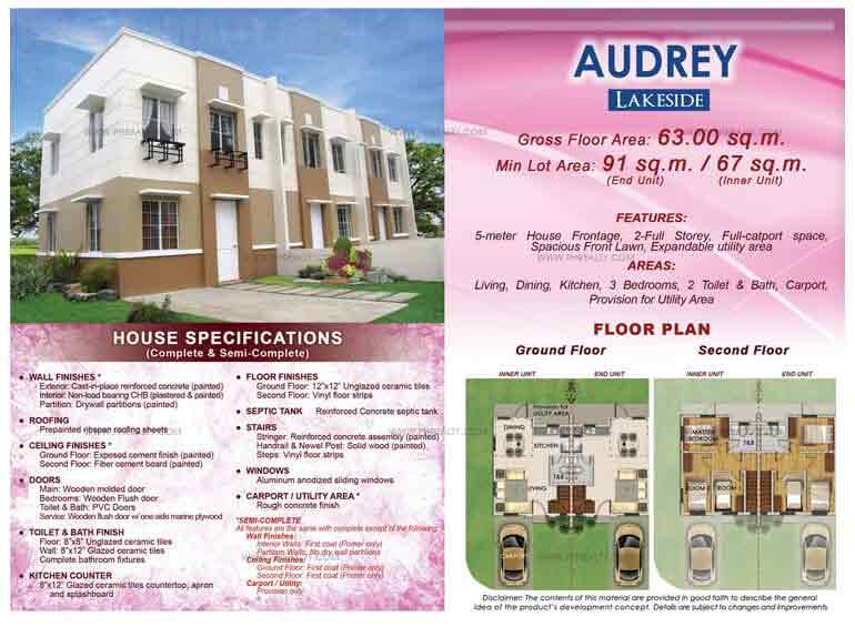 Audrey Floor Plan