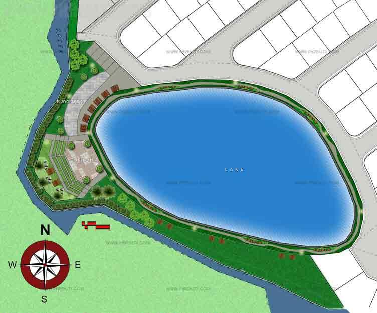 Lakeside Amenities Plan