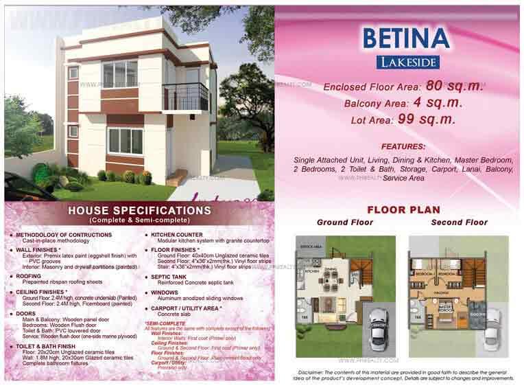 Betina Floor Plan