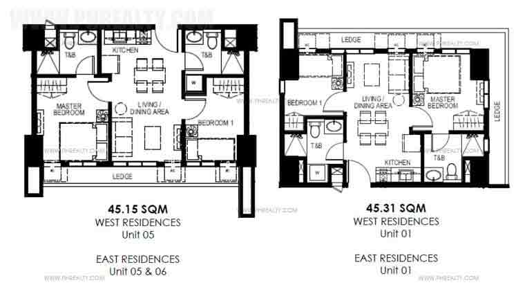 Typical Two Bedroom Suite