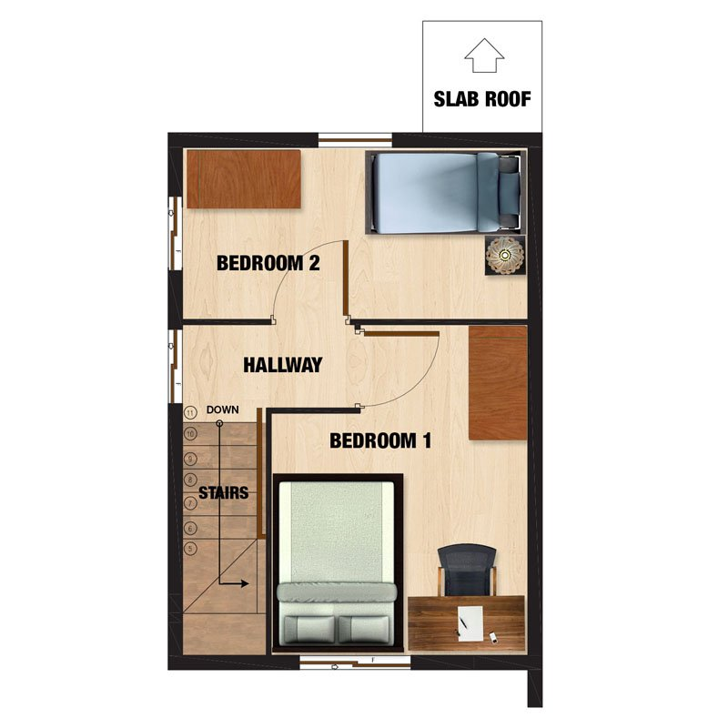 Mariana-DH Second Floor Plan