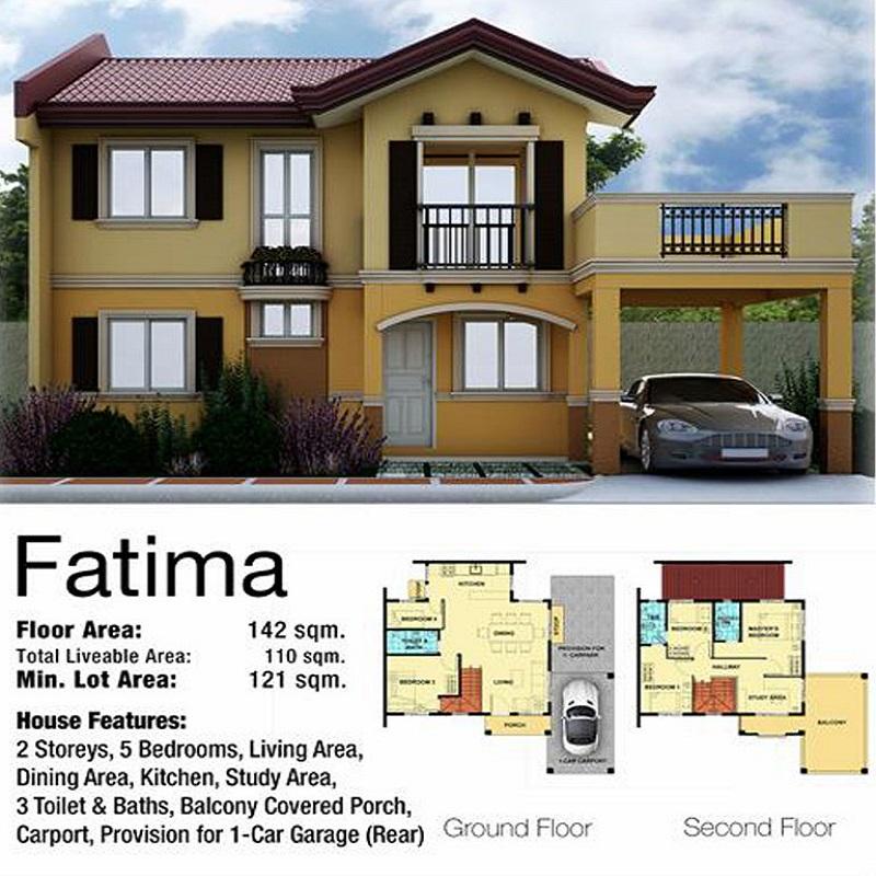 Fatima House Floor plan